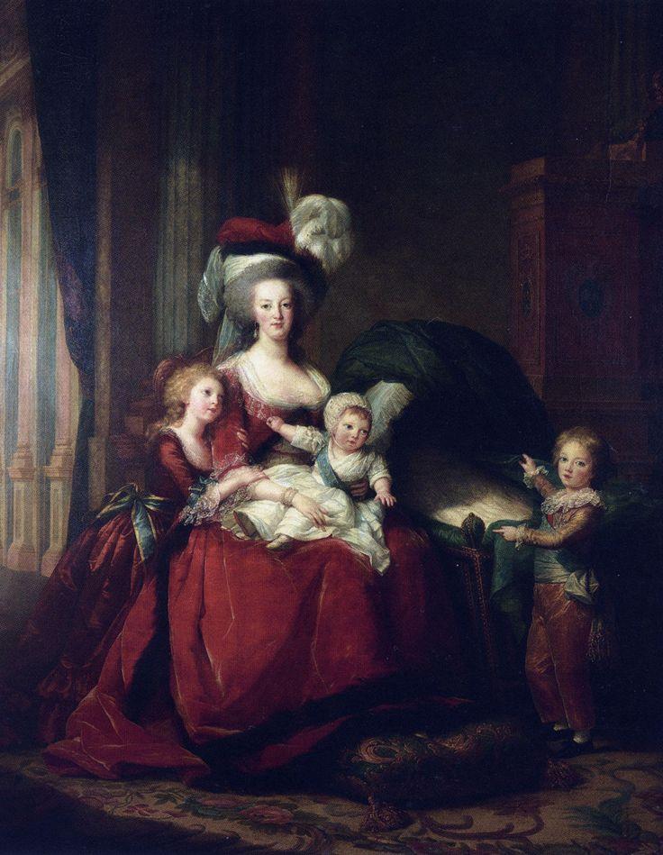 Élisabeth Louise Vigée Le Brun -Maria Antonina z dziećmi