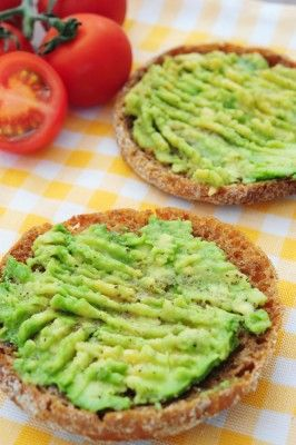 Whole Grain Toast With Mashed Avocado And An Egg Recipes — Dishmaps