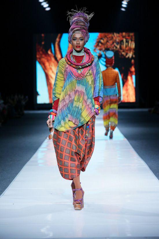 As her name resounds :) Indonesia fashion week 2012 dian pelangi