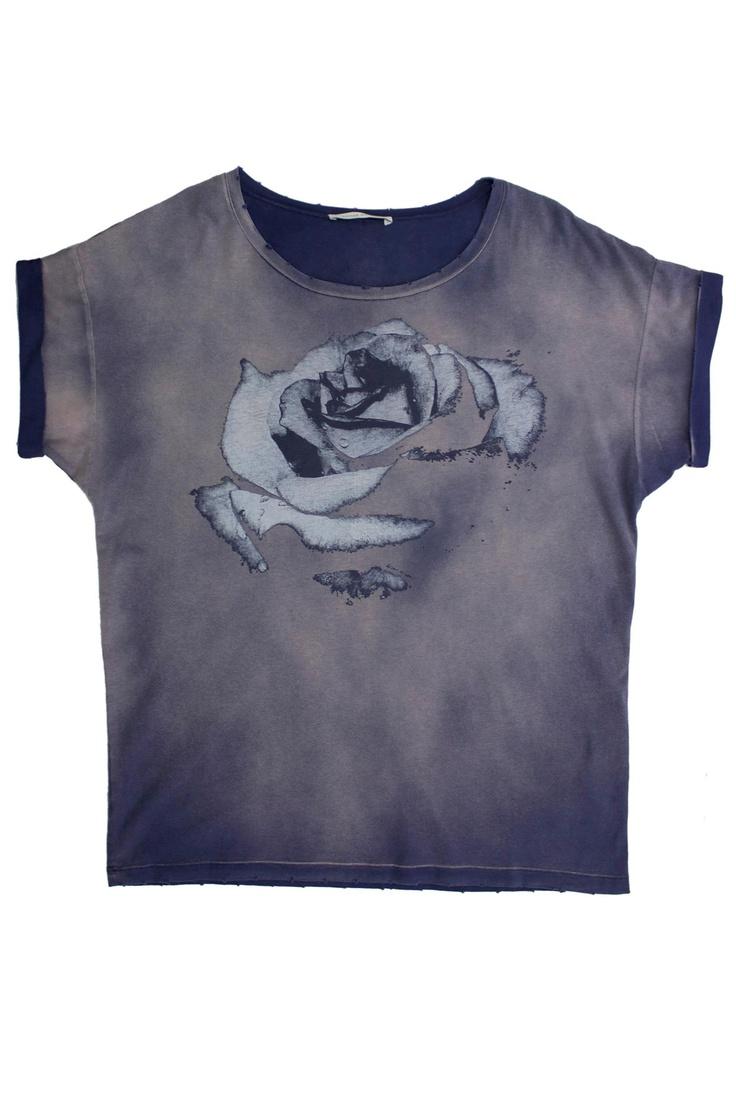 Purple T-Shirt by Pierre Balmain #HitGallery #GBModa