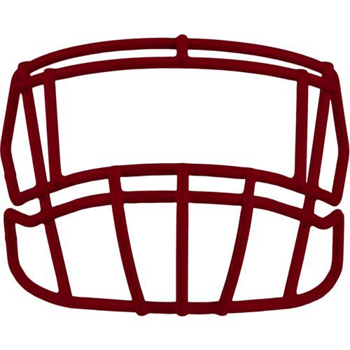 Riddell Adults' S2EG Football Facemask Red Dark/Light Red - Football Equipment, Football Equipment at Academy Sports