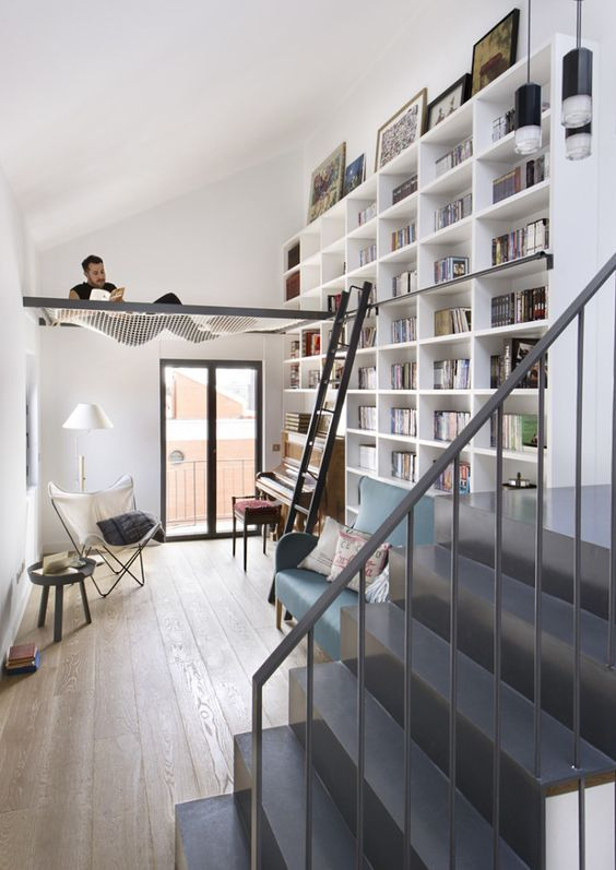 """great idea for a reading """"nook"""" in a smaller space. the netting won't block light or air flow"""
