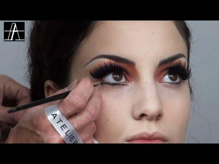 Make-Up Atelier Paris: Make Up Tutorial - Moulin Rouge Look