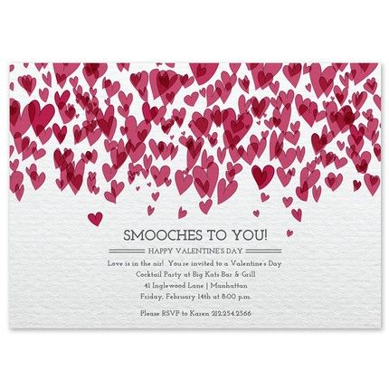 16 best Valentineu0027s Day Invitations \ Cards images on Pinterest - valentines day invitations