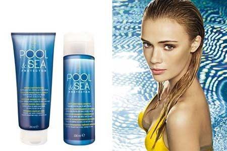 POOL AND SEA PROTECTOR La protección contra el cloro y el agua salada.