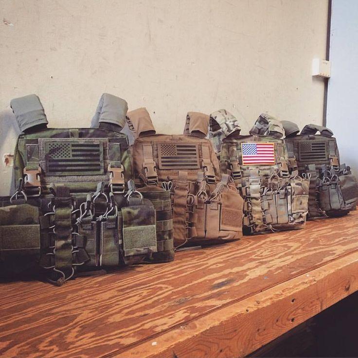 Haley Strategic D3 Chest Rigs and OPT-Mayflower MBAV APC