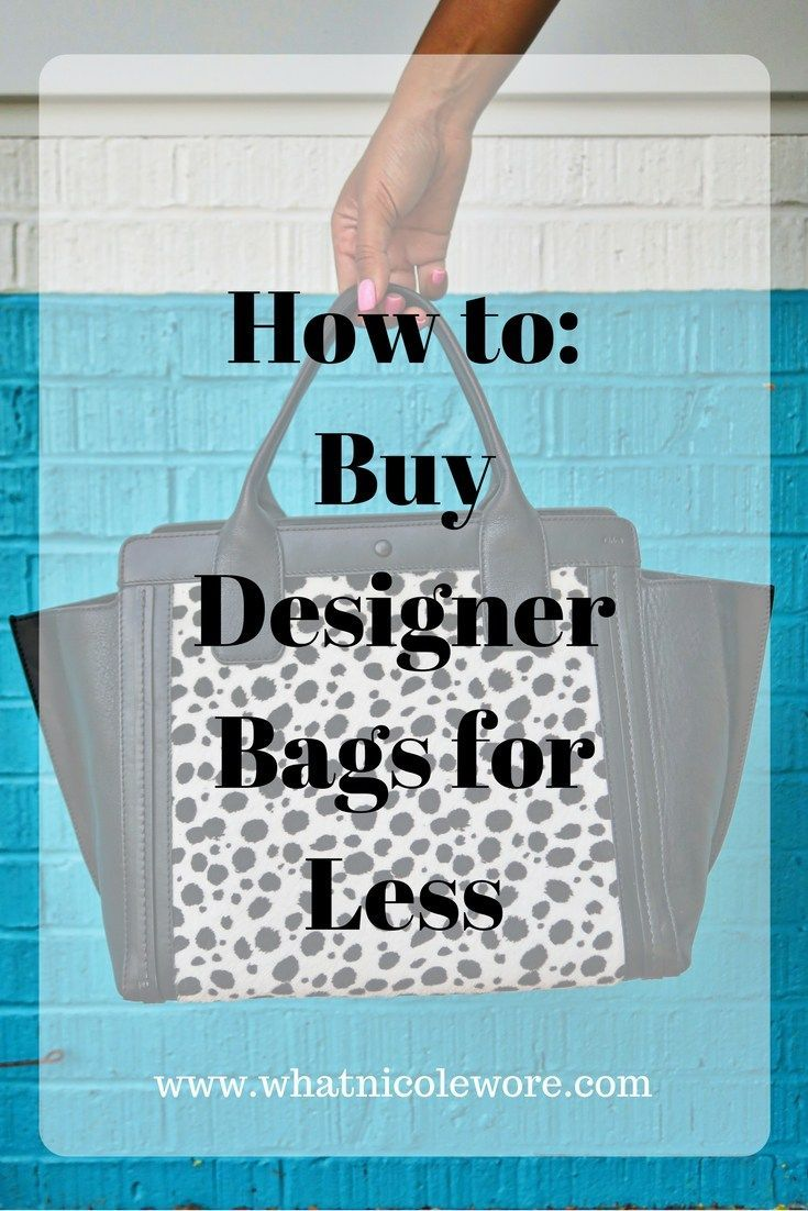 Kentucky fashion blogger, What Nicole Wore, shares one of the best kept secrets for buying designer handbags for less and reviews the Chloé Alison East West Tote. // how to purchase your dream designer bag, get designer handbags for less, chloe bag