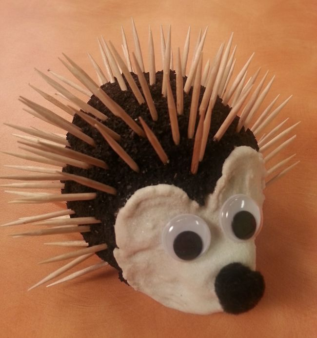 Hands On - Crafts For Kids hedgehog