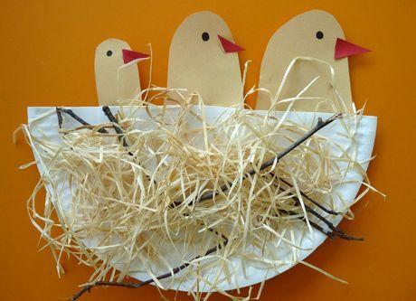 Tvoríme s deťmi: Vtáčie hniezdo   Tvorivo s deťmi   Vychovávame   Babetko.Rodinka.sk