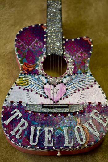 My true love is my guitar.