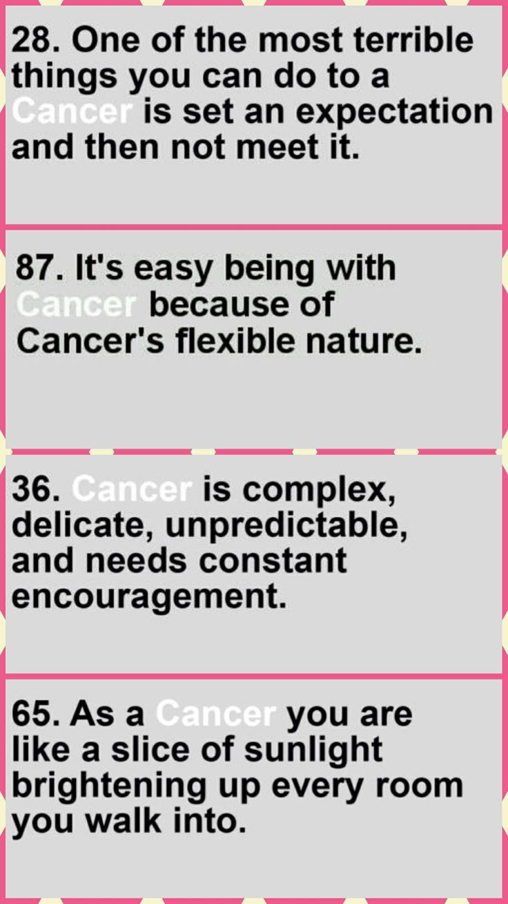 Cancer girl (AKA all about me)...