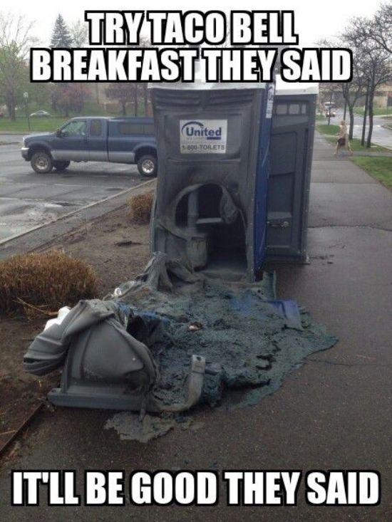 Funny As Shit Happens Taco Bell Meme Bwhahaha I