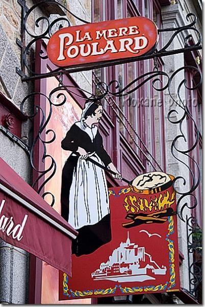 La Mère Poulard  Mont Saint Michel.