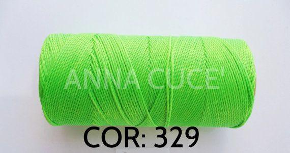 COR: 329 Scegli da 10 - 20 metri filo cerato LINHASITA 1 mm di spessore, filo…