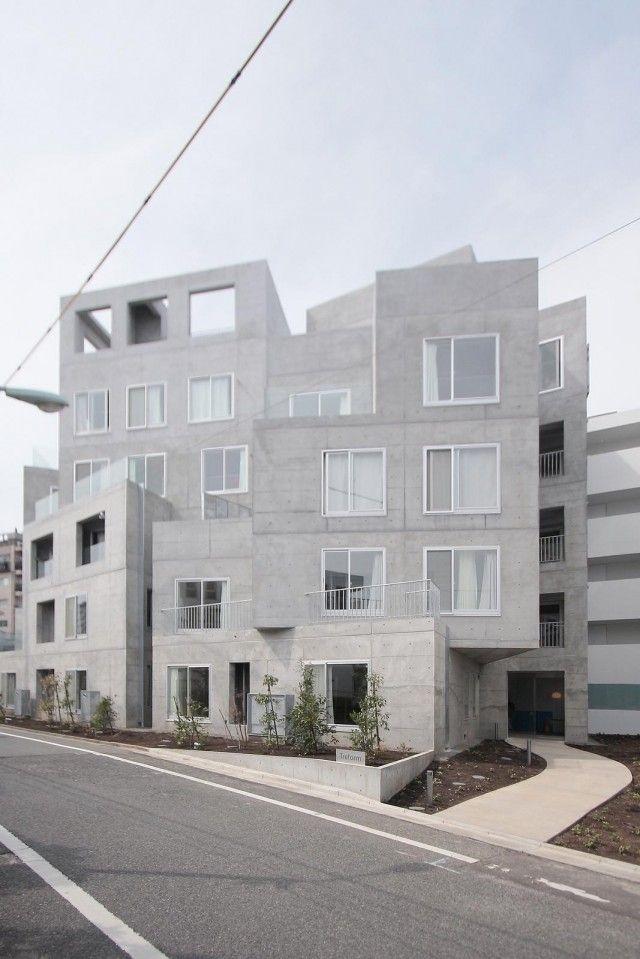 Ryue Nishizawa > Treform, residential building. Tokyo