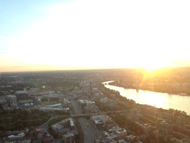 Sunset at Prudential Rooftop