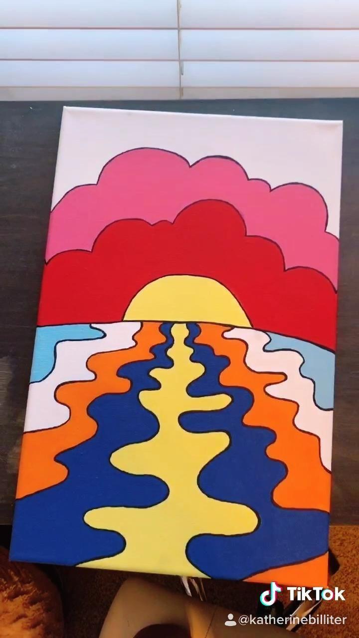 Tiktok Katherinebilliter Canvas Painting Diy Canvas Art Painting Diy Art Painting