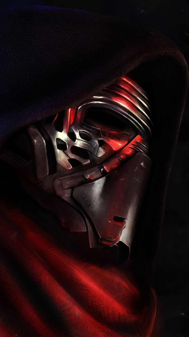 star wars force awakens kylo ren | Wallpapers of the week: The Force Awakens iPhone wallpapers