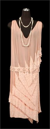 evening gown from 1926  Evening gown, 1926 - Collection of Alexandre Vassiliev Moscow -