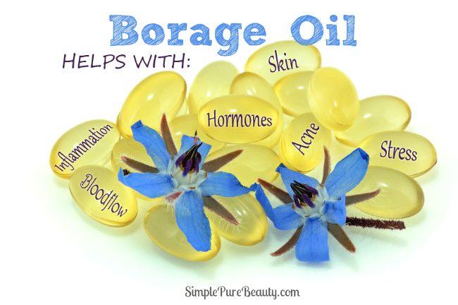 5 Impressive Borage Oil Benefits for Acne #acne #natural #acne treatment