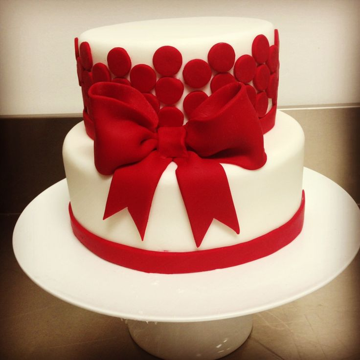 Dotty for Bows Cake by Alana Rose Cakes