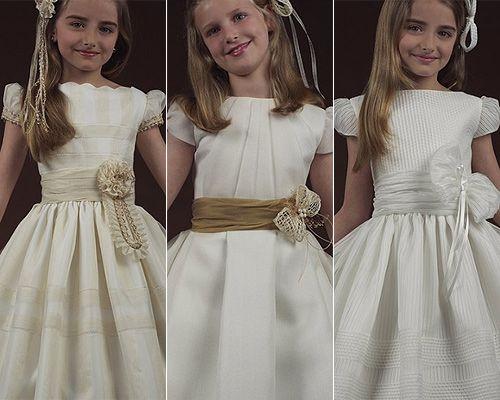 Organizar la Primera Comunión: Vestidos para las princesitas 2010