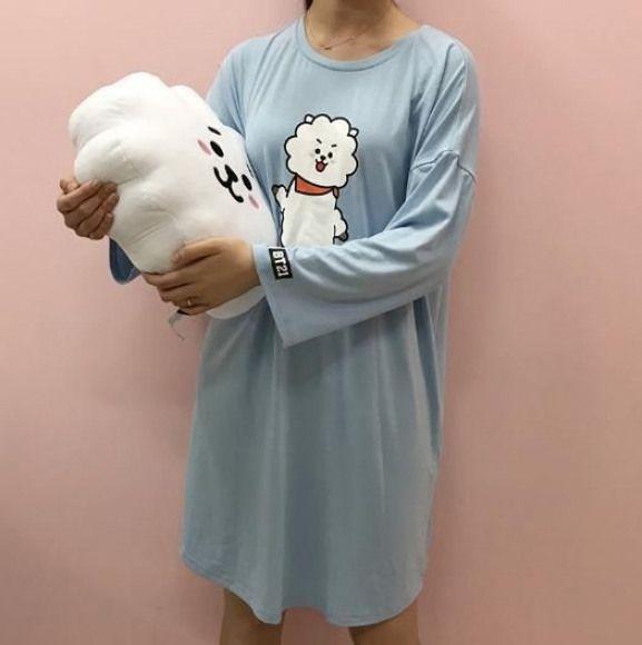 cokodive pre order bt21 one piece sleep wear sleep sleep outfit kpop outfits teenage fashion outfits outfits