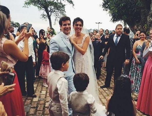Convidados mostram bastidores do casamento de Sophie Charlotte e Daniel de Oliveira http://r7.com/Cypc