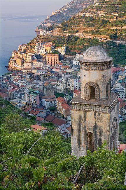Minori Campanile, Amalfi Coast, Italy