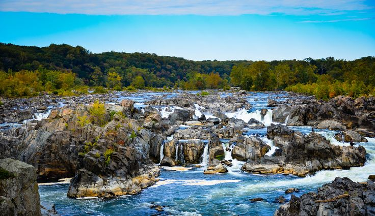 https://flic.kr/p/p6XDLw | Great Falls on the Potomac River at Great Falls Park Virginia | Great Falls on the Potomac River at Great Falls Park Virginia