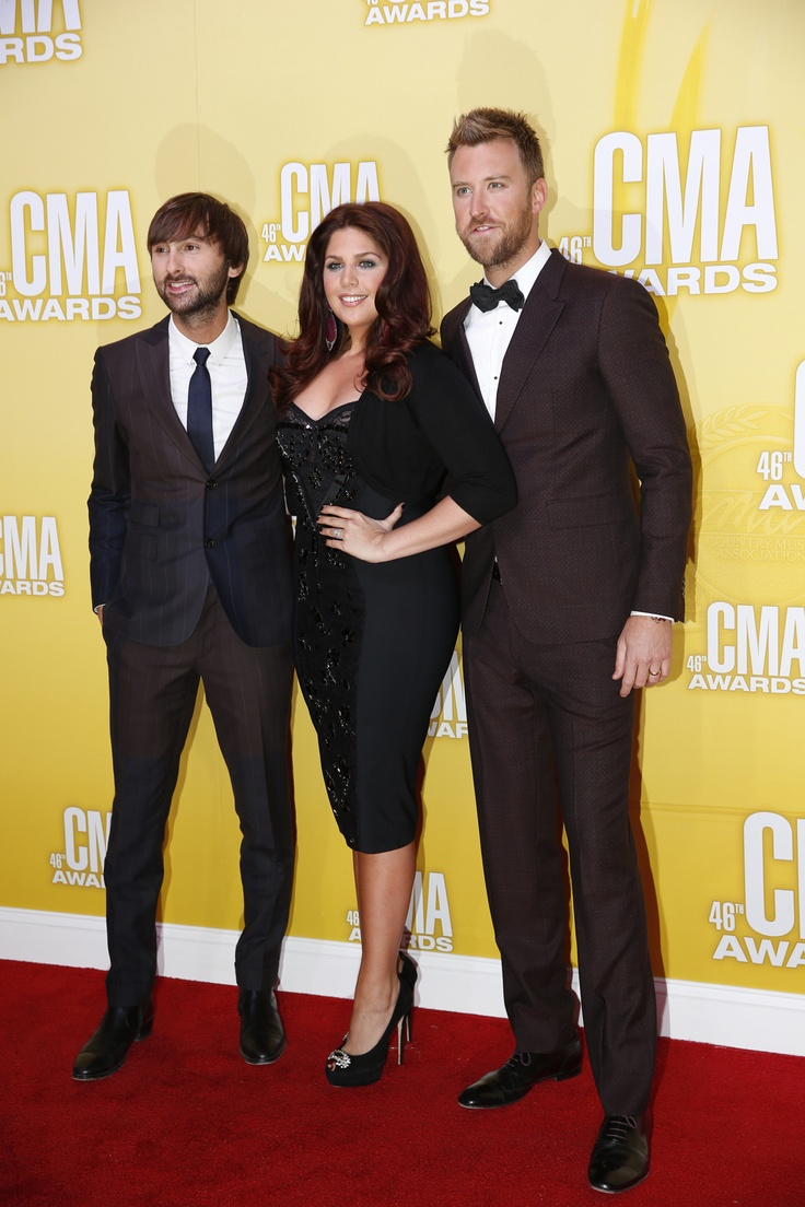 Power trio Lady Antebellum on the Red Carpet!