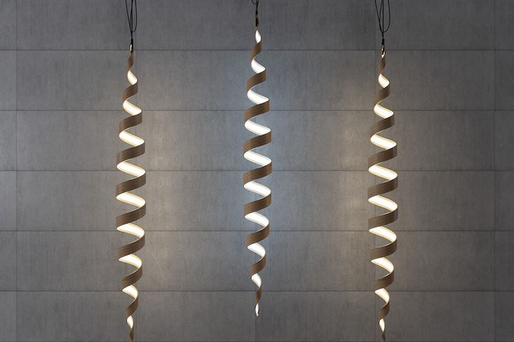 Light may travel in a straight line, but the Spiral lamp collection doesn't! This elegant series of sculptural luminaires is a literal twist on pendant and