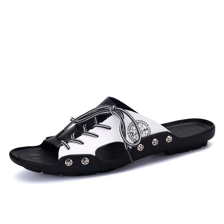 Chaussure homme décontractée mens sandals des chaussures confortables luxury brand sandals men 2017 Nouvelle mode sport sandals jMg82Lf5it