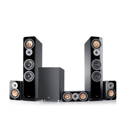 "Ultima 40 Surround ""5.1-Set"" by Teufel. #homecinema #loudspeakers #fromgermany"