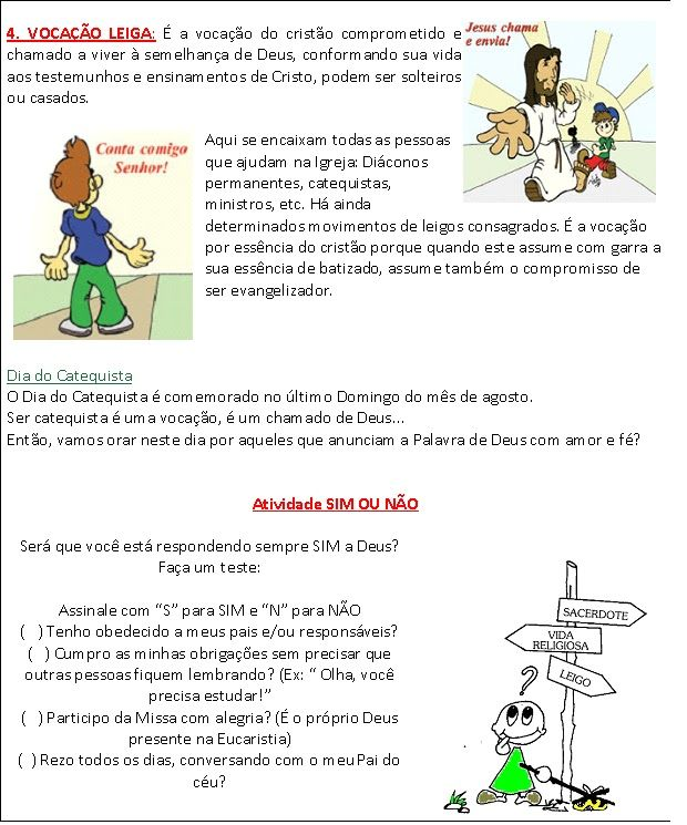 Vocacao Texto Para As Criancas 2 Bmp 620 745 Catequese