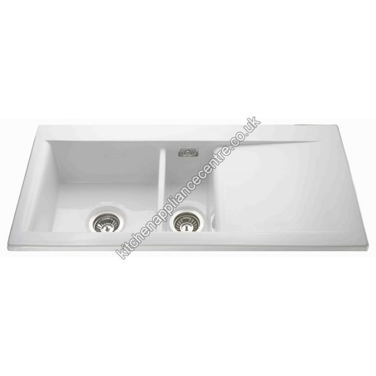 Sink 1.5 Bowl White Kitchen Appliance Centre Sinks and Taps ...