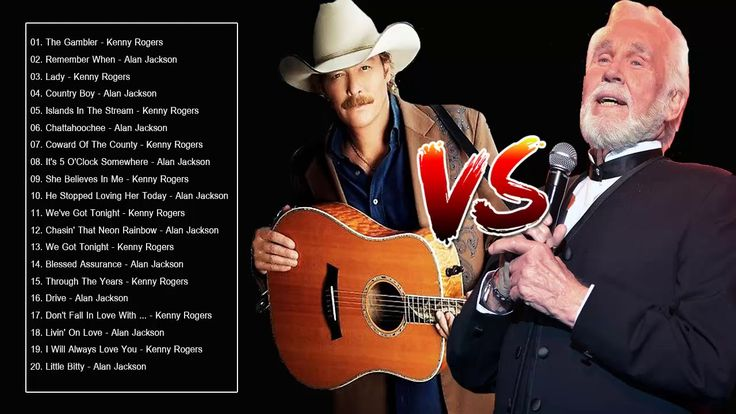 Kenny Rogers, Alan Jackson : Greatest Hits - Best Country Songs 80s and 90s