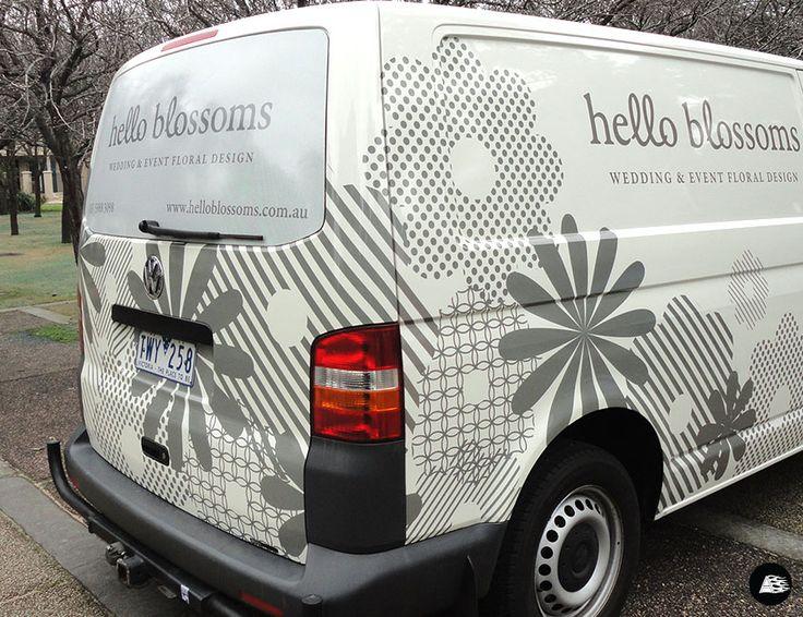 10 Best Images About Florist Delivery Van Graphics Amp Wraps
