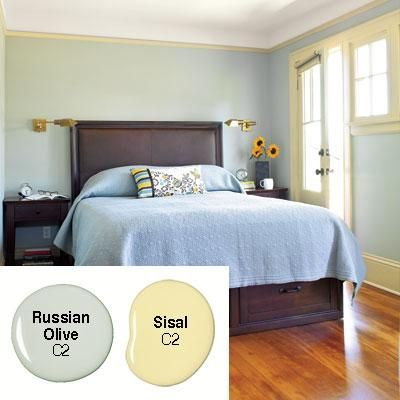 17 best images about guest room on pinterest guest rooms for Khaki green walls