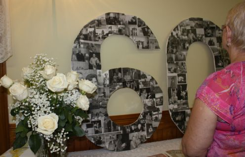 60th Anniversary Party Decorations | Sent from reader, Allison:
