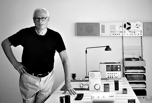 Dieter Rams - German Industrial Design Engineer & creator of many iconic products still coveted today.