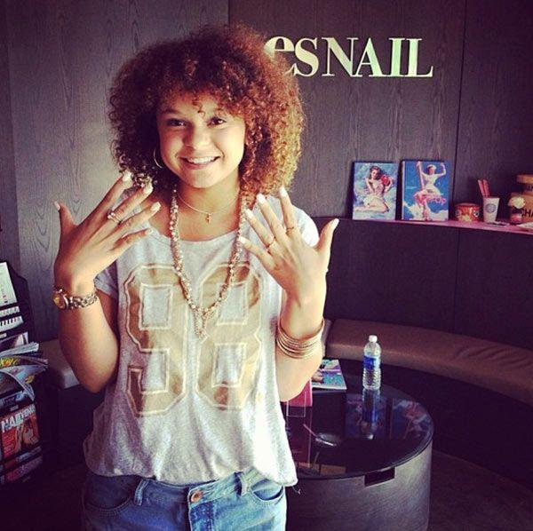 Rachel Crow's Flashy Mani — Get The Look With Nails,Inc.
