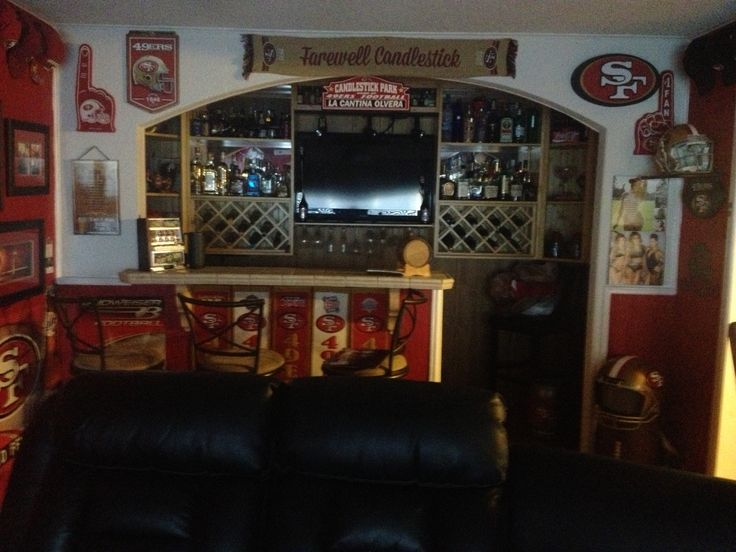 17 best images about san francisco 49ers rooms wo man for 49ers bathroom decor