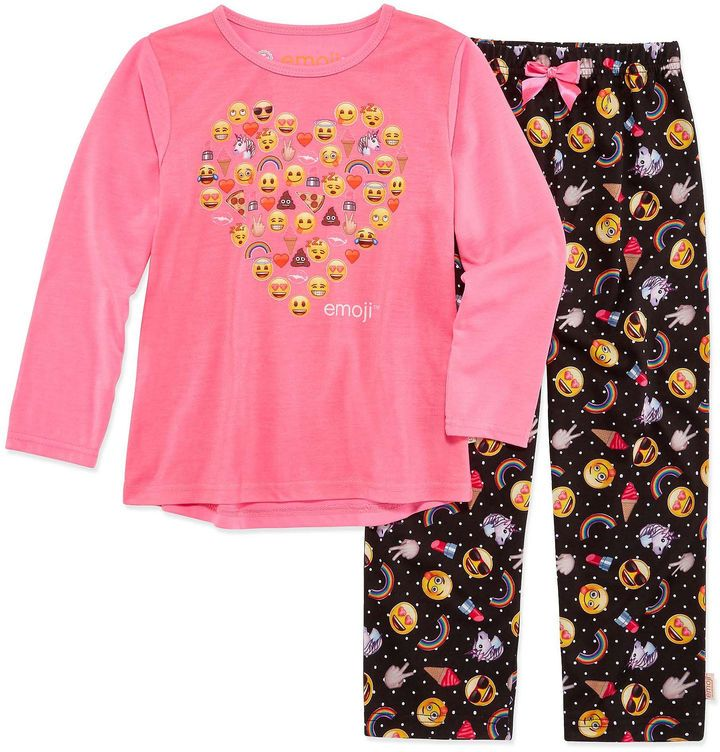 EMOJI, INC. Emoji Inc. N/A 2-pc. Pant Pajama Set Girls