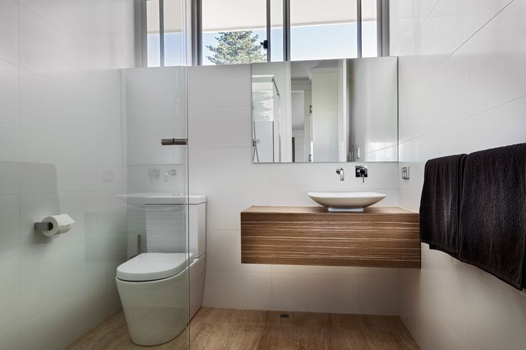 pretty frameless mirrors in contemporary perth with vanities for