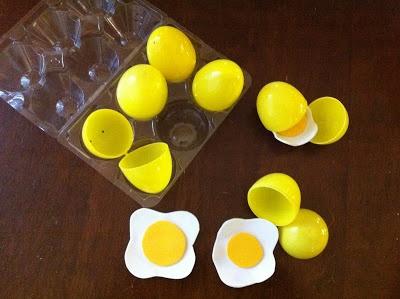 DIY Eggs for Pretend Kitchen!