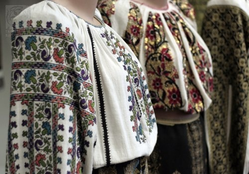 Traditional blouses from Romania #folk #romania #traditions #ie