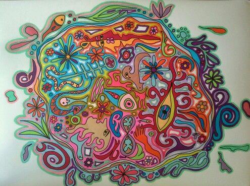 Not round. By marjacq.art. hartopdetong.wordpress.com