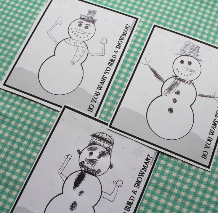 Do you want to build a snowman? Frozen Olaf game and printable.