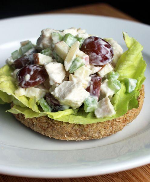 Healthy Chicken Salad Recipe | POPSUGAR Fitness